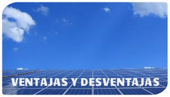 desventajas de la energía solar