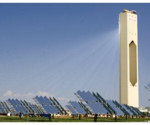 sistema de concentración solar